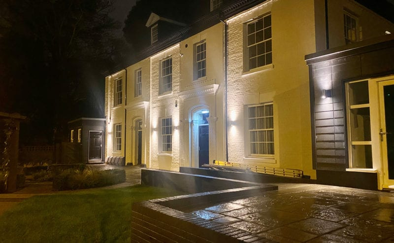 Heath House At Night